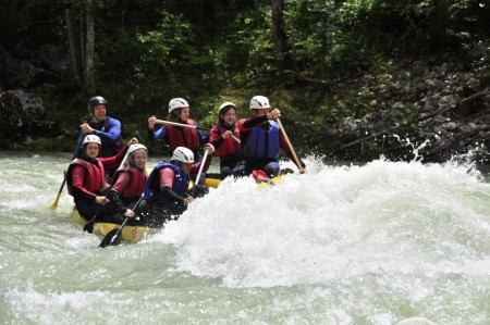 Rafting 'all inclusive light'
